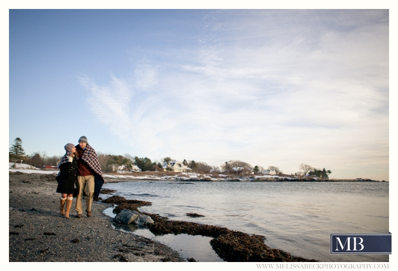 engagement session photos on the beach kennebunkport