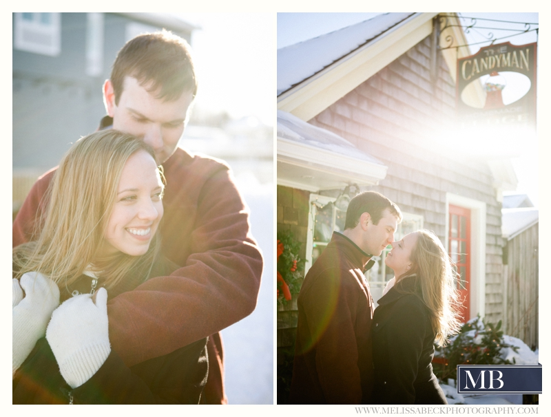 engagement phtotos in kennebunkport