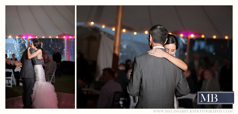 father and daughter dancing at wedding reception