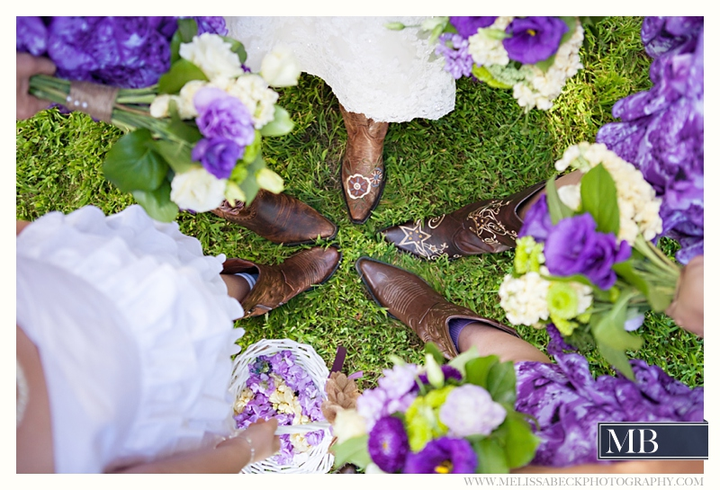 wedding party boots