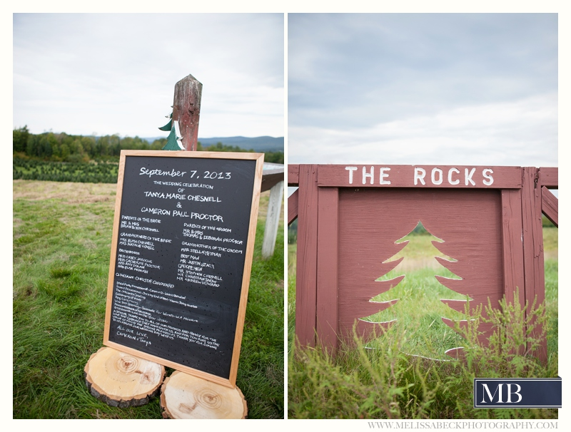 welcome sign the rocks estate new england wedding photography