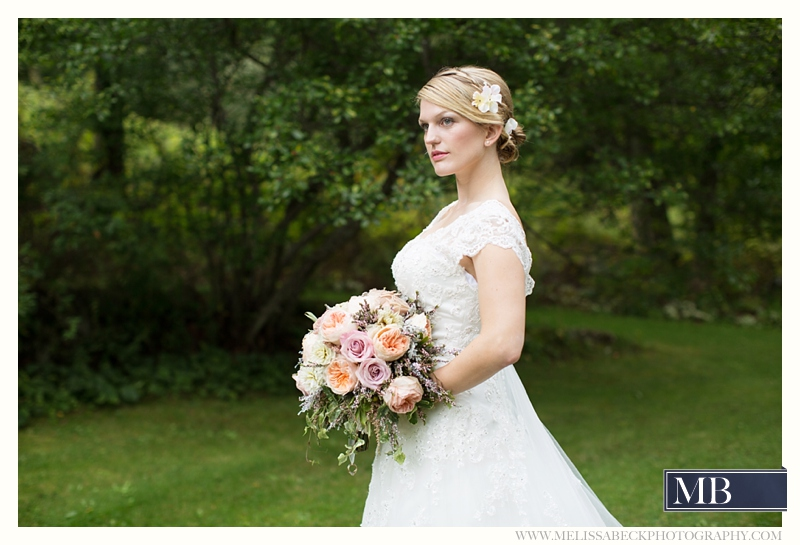 bridal portrait the rocks estate new england wedding photography